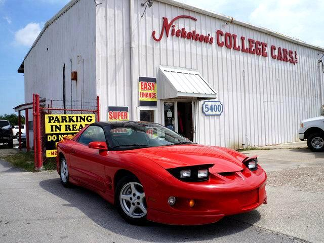 2001 Pontiac Firebird Visit Nicholsons College Cars online at wwwnicholsoncarscom to see more pic