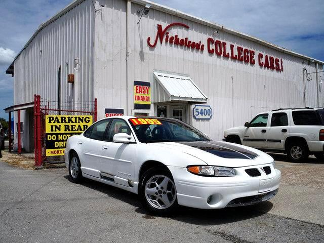 2001 Pontiac Grand Prix Visit Nicholsons College Cars online at wwwnicholsoncarscom to see more p