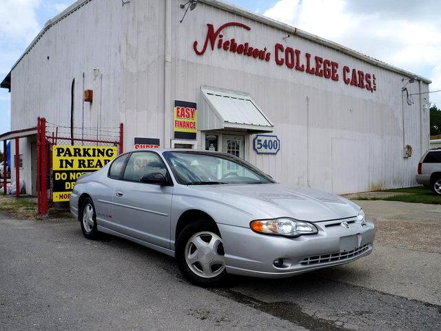 2001 Chevrolet Monte Carlo Visit Nicholsons College Cars online at wwwnicholsoncarscom to see mor