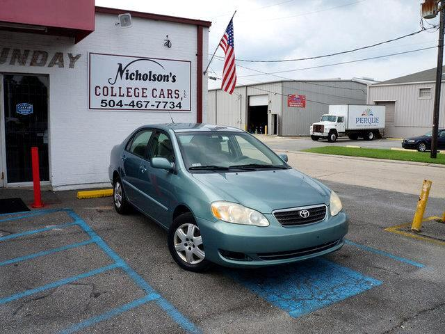 2005 Toyota Corolla Visit Nicholsons College Cars online at wwwnicholsoncarscom to see more pictu
