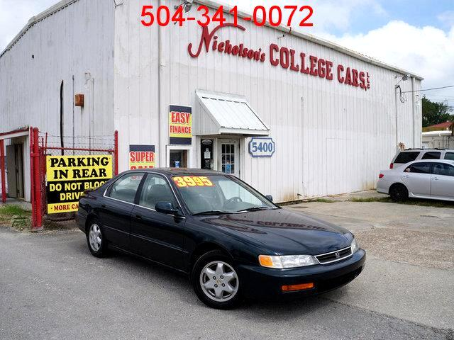 1996 Honda Accord Visit Nicholsons College Cars online at wwwnicholsoncarscom to see more picture
