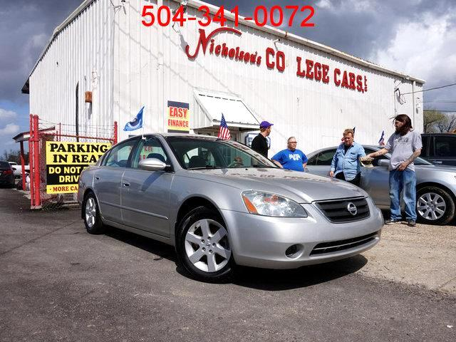 2003 Nissan Altima Visit Nicholsons College Cars online at wwwnicholsoncarscom to see more pictu