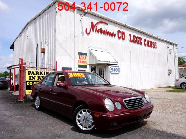 2001 Mercedes E-Class Visit Nicholsons College Cars online at wwwnicholsoncarscom to see more pi