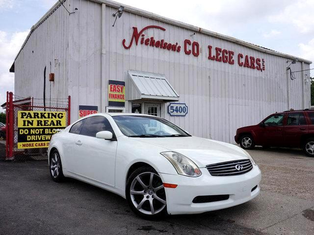 2003 Infiniti G35 Visit Nicholsons College Cars online at wwwnicholsoncarscom to see more pictur