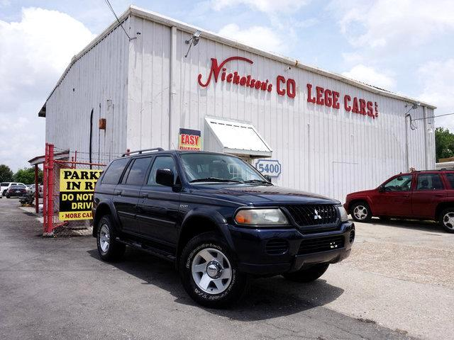 2002 Mitsubishi Montero Visit Nicholsons College Cars online at wwwnicholsoncarscom to see more