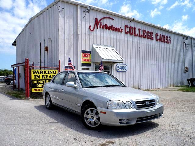 2006 Kia Optima RATES AS LOW AS 299 APR FOR 60 MOS WAC ON THIS OPTIMA EXCELLENT FINANCNG PROGRAM