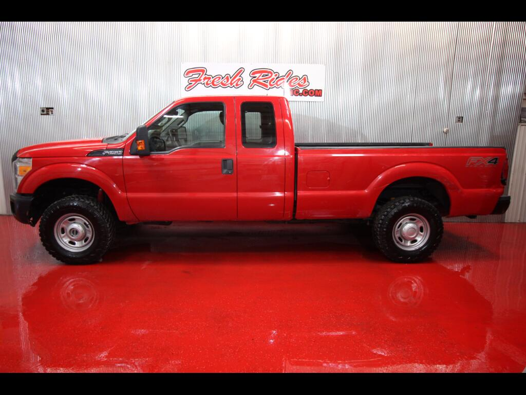 2012 Ford F-250 SD XL SuperCab LWB 4WD