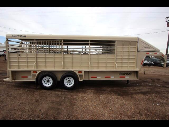 2015 Trailer Used 20' Swift Built Stock Combo Trailer