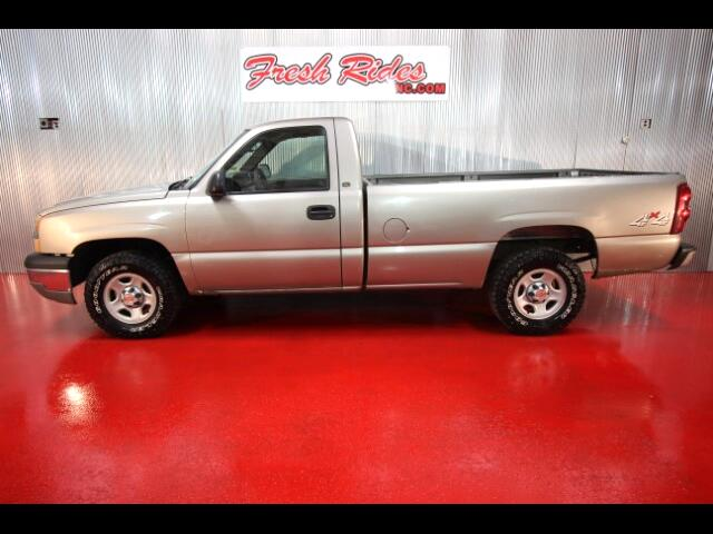 2003 Chevrolet Silverado 1500 LS Reg. Cab Long Bed 4WD