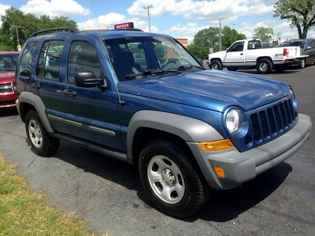used 2006 jeep liberty sport 4wd for sale in pulaski tn