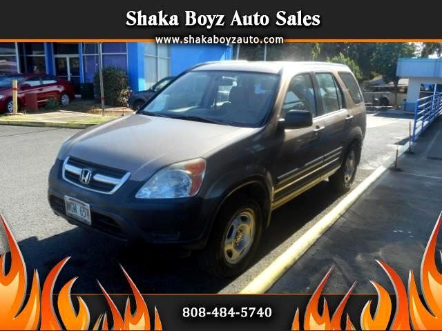 2004 Honda CR-V LX 2WD AT w/ Front Side Airbags