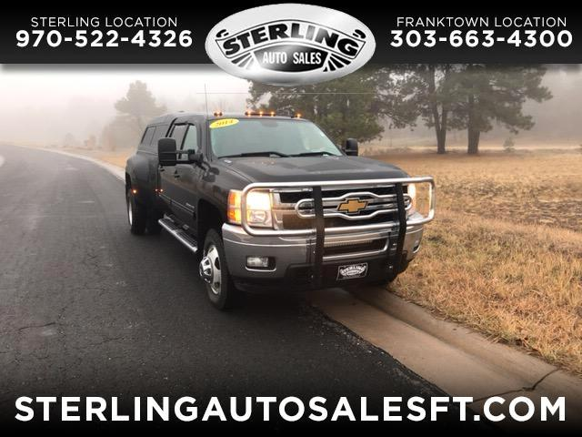 2014 Chevrolet Silverado 3500HD LTZ Crew Cab Long Box 4WD