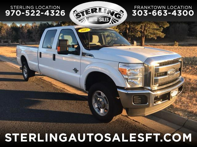2015 Ford F-250 SD XLT Crew Cab Long Bed 4WD