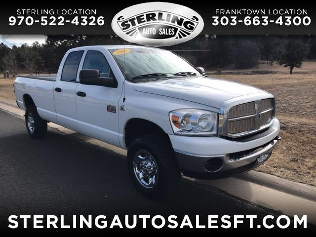 2007 Dodge Ram 2500 SLT Quad Cab Long Bed 4WD