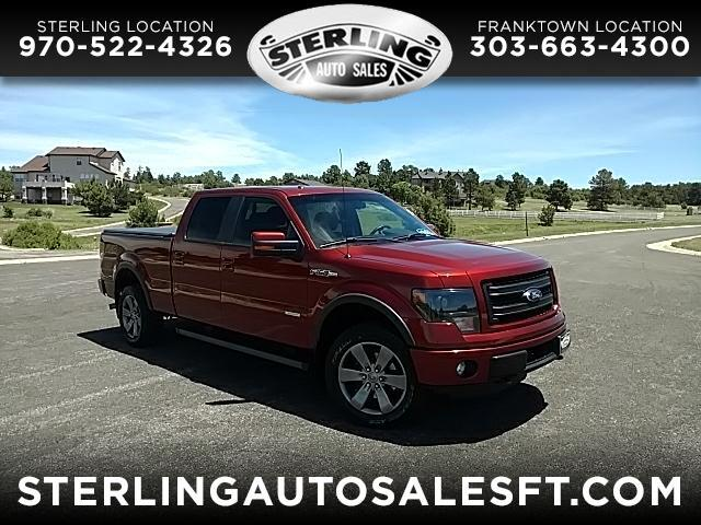 """2014 Ford F-150 4WD SuperCrew 139"""" FX4"""