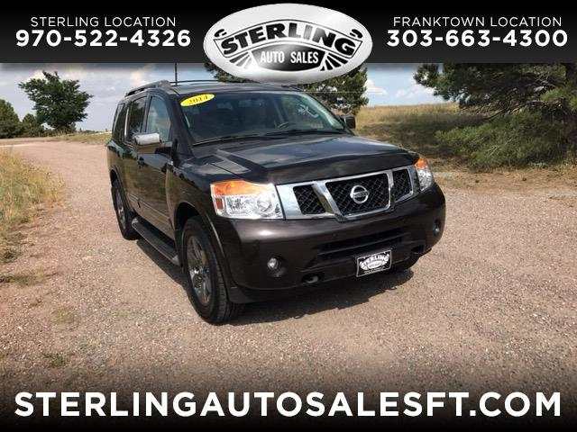 2014 Nissan Armada 4WD 4dr Platinum *Ltd Avail*