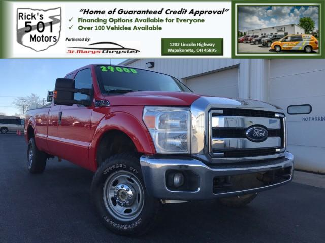 2012 Ford F-350 SD XLT SuperCab Long Bed 4WD