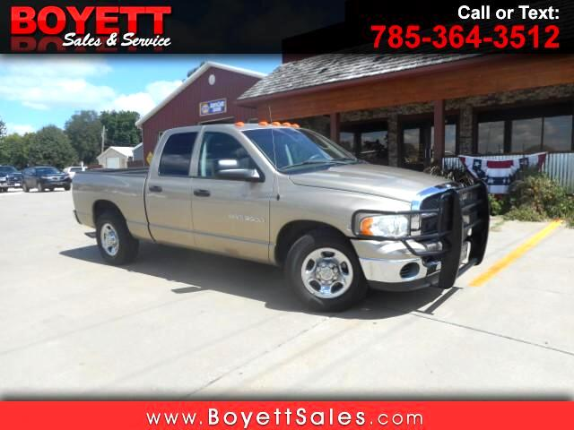 2003 Dodge Ram 3500 Laramie Quad Cab Short Bed 2WD