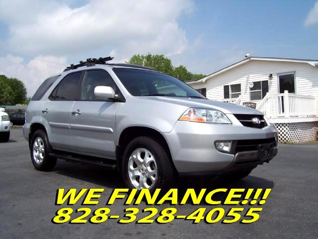 Used 2001 Acura Mdx Sold In Hickory Nc 28601 R L Motors
