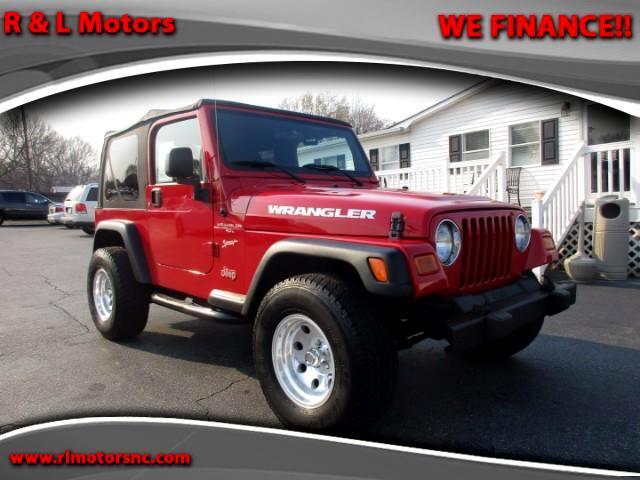 2006 Jeep Wrangler Sport 4WD