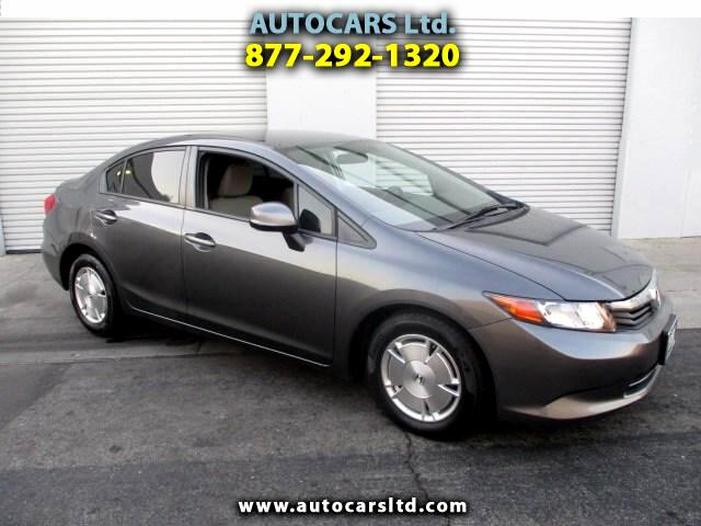 2012 Honda Civic HF Sedan 5-Speed AT