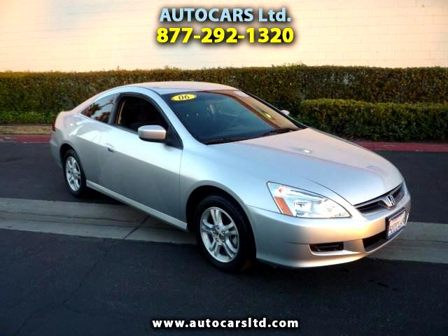 2006 Honda Accord LX coupe AT