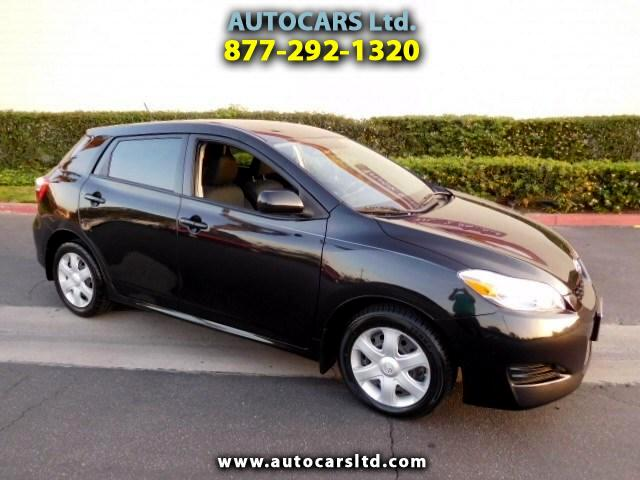 2009 Toyota Matrix Base 4-Speed AT