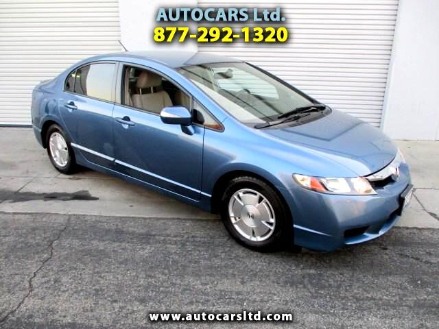 2009 Honda Civic Hybrid CVT AT-PZEV