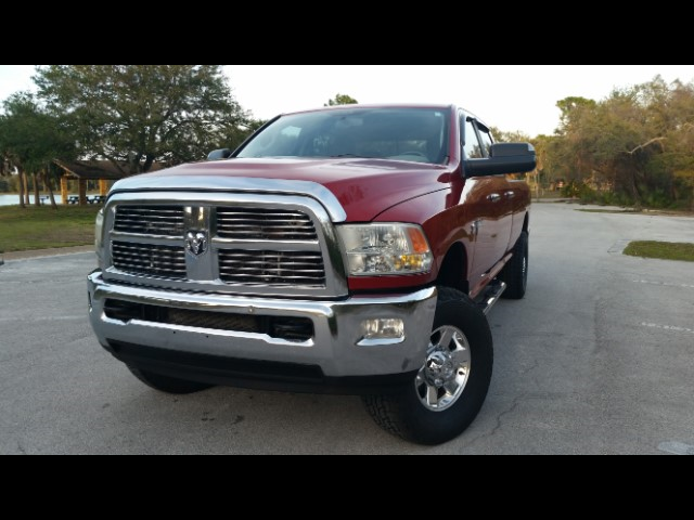 2010 RAM 3500 Big Horn 4x4 Crew Cab 8' Box