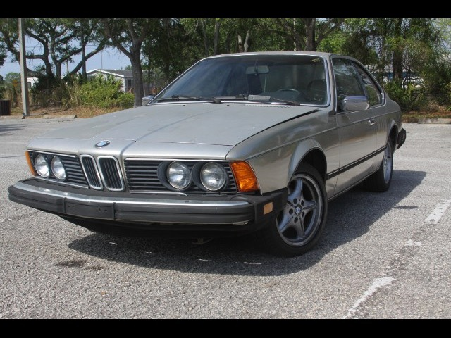 1984 BMW 6-Series 633CSI automatic