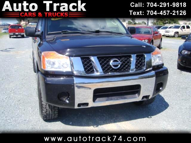 2009 Nissan Titan XE Crew Cab 4WD SWB