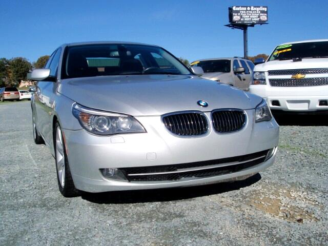used 2009 bmw 5 series 535i for sale in monroe nc 28110 auto track. Black Bedroom Furniture Sets. Home Design Ideas