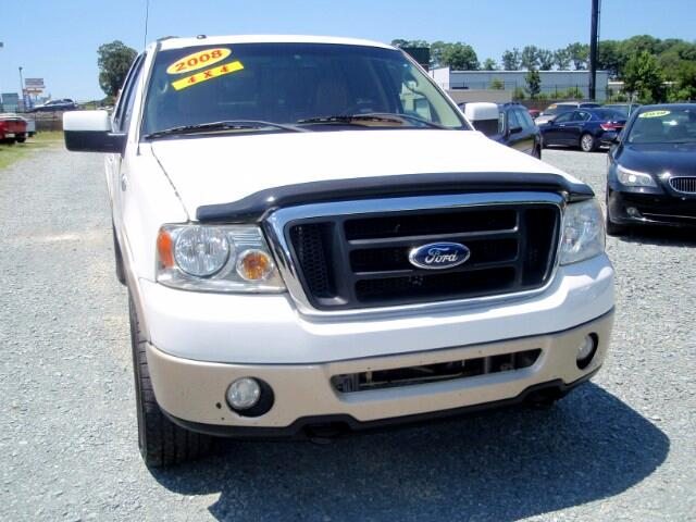 used 2008 ford f 150 king ranch supercrew 4wd for sale in monroe nc 28110 auto track. Black Bedroom Furniture Sets. Home Design Ideas