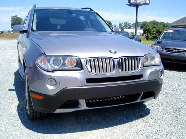used 2008 bmw x3 for sale in monroe nc 28110 auto track. Black Bedroom Furniture Sets. Home Design Ideas