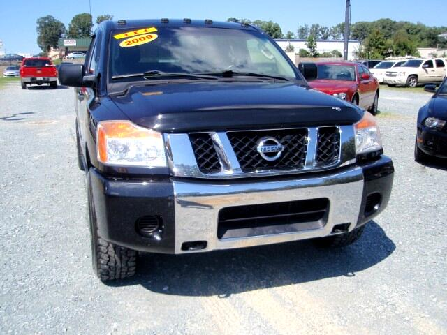 used 2009 nissan titan xe crew cab 4wd swb for sale in monroe nc 28110 auto track. Black Bedroom Furniture Sets. Home Design Ideas