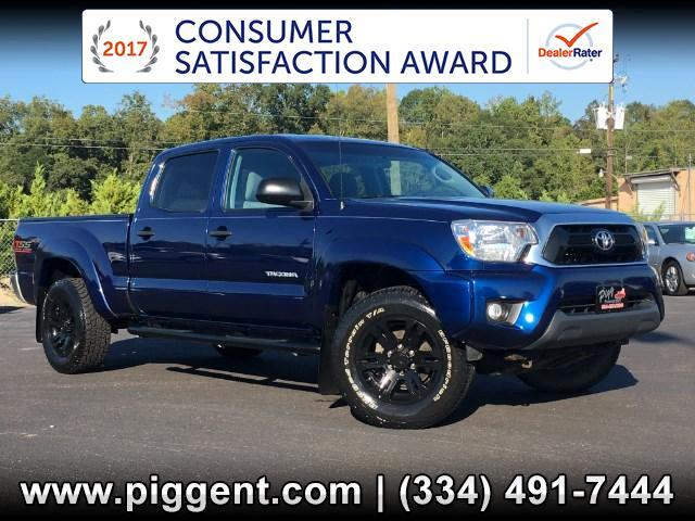 2015 Toyota Tacoma SR5 Double Cab Long Bed V6 5AT 4WD