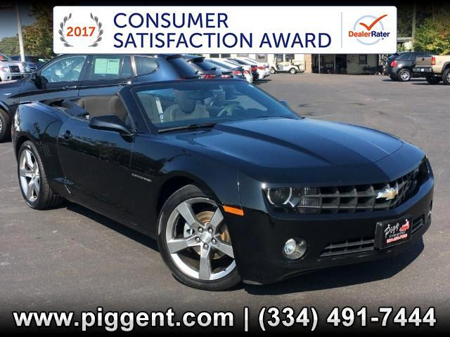 2011 Chevrolet Camaro CONVERTIBLE LT RS PKG