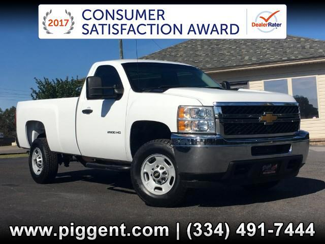 2013 Chevrolet Silverado 2500HD REGULAR CAB 2WD