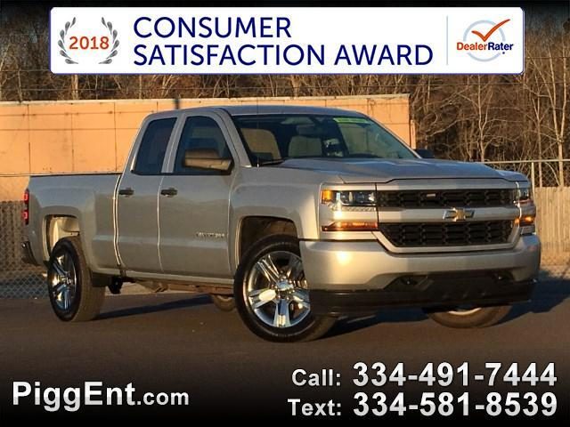 2017 Chevrolet Silverado 1500 CUSTOM DOUBLE CAB 2WD