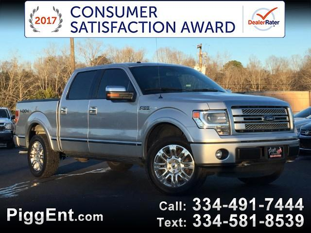 2014 Ford F-150 SUPERCREW PLATINUM 4WD