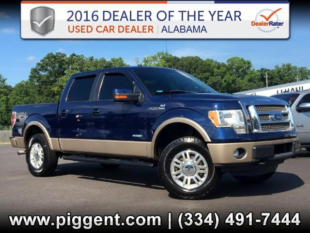 2011 Ford F-150 SUPERCREW LARIAT 4X4