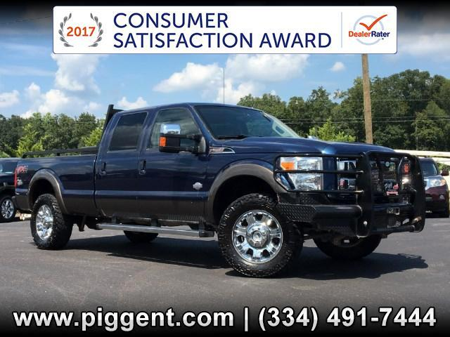 2015 Ford F-350 SD CREW CAB KING RANCH FX4 4X4