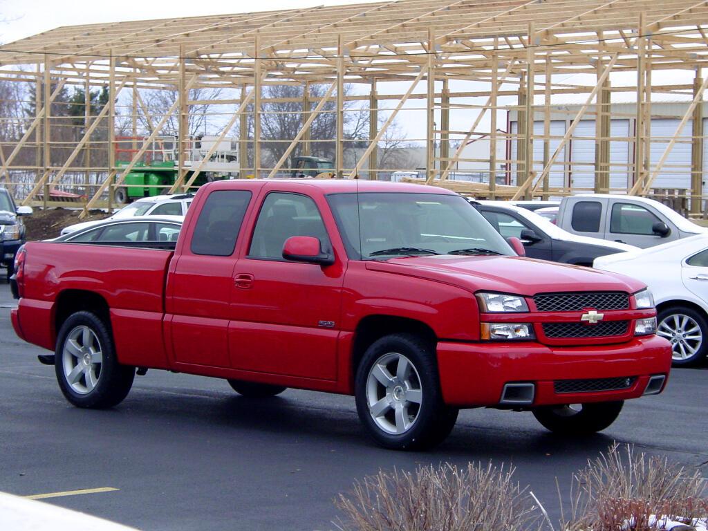 "2003 Chevrolet Silverado SS Ext Cab 143.5"" WB"