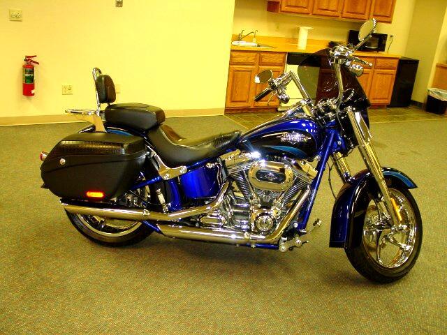2011 Harley-Davidson FLSTSE CVO Soft Tail Convertable