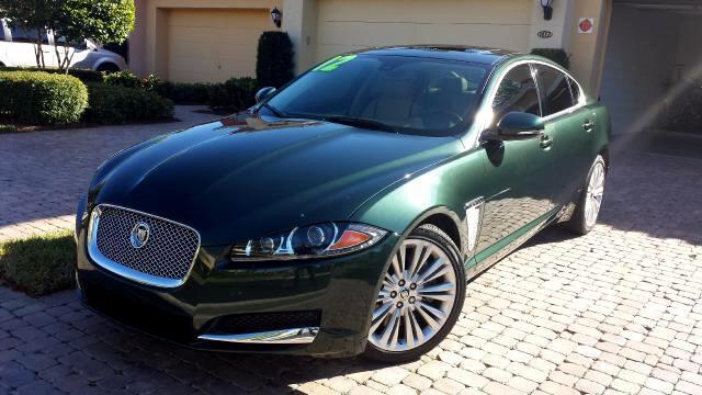 2012 Jaguar XF-Series XF Portfolio