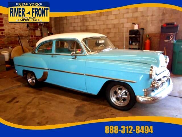 1953 Chevrolet BelAir Turquoise White