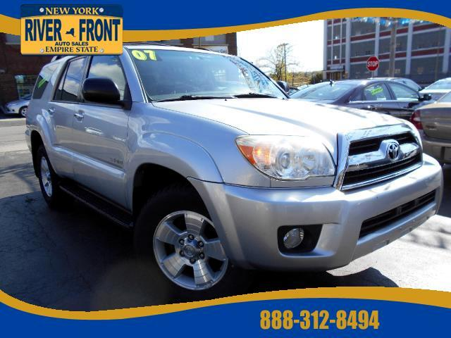 used 2007 toyota 4runner sr5 4wd v6 for sale in buffalo ny. Black Bedroom Furniture Sets. Home Design Ideas