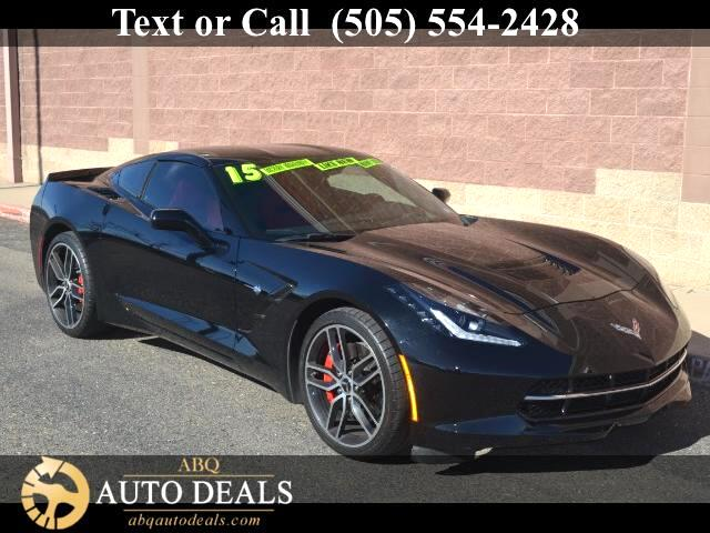 2015 Chevrolet Corvette Stingray Z51 2LT