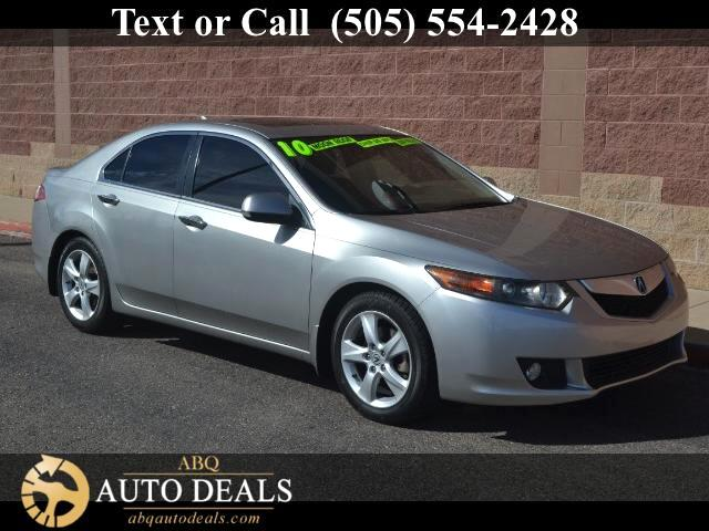 2010 Acura TSX Reward yourself with our Accident Free 2010 Acura TSX thats beautiful in Palladium