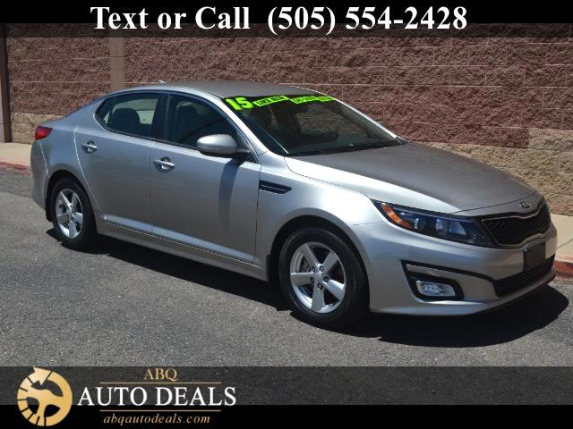 2015 Kia Optima Experience the sporty sophistication of our One Owner Accident Free 2015 Kia Optima